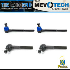 Set of 4 Tie Rod End Front Inner & Outer Mevotech For 1968 CHEVROLET CHEVY II