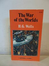 THE WAR OF THE WORLDS H. G. Wells Paperback Book Science Fiction 1980 Unabridged