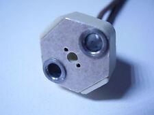 Douille céramique Professionnelle G4 trous lisses pour vis de 3mm