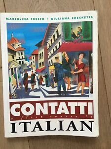 Contatti A First Course in Italian Mariolina Freeth + Giuliana Checketts (2004)