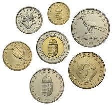 Ungarn 188 Forint 1994 bis 2003 bfr. Münzsatz aus 7 Münzen