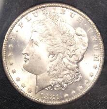 1881-CC Morgan Silver Dollar $1 Coin in GSA Holder - PCGS MS66 PQ - Rare!