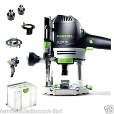 PLUNGE ROUTER FESTOOL OF 1400 EBQ PLUS 574341 574346 ROUTING SYSTEM festo tools