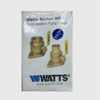 Watts Brass Isolation Pump Flange 1-1 /4 in. Sweat