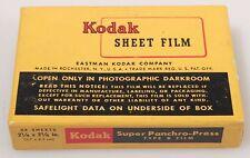KODAK SUPER PANCHRO-PRESS TYPE B 2 1/4 X 3 1/4 FILM