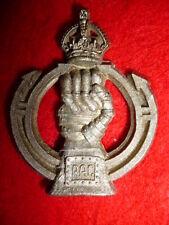 The Royal Armoured Corps Plastic Cap Badge, WW2, KK 2199 (1 blade)