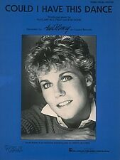 Could I Have This Dance Sheet Music Piano Vocal Anne Murray NEW 000353382