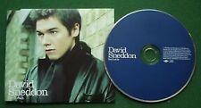 David Sneddon Don't Let Go Enhanced CD Single