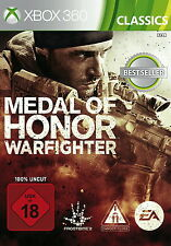 Medal of Honor: Warfighter (Microsoft XBOX 360, 2012, Dvd-Box) Nuovo OVP