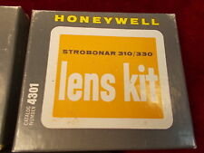NEW OLD STOCK, VINTAGE HONEYWELL STROBONAR 310/330 LENS KIT, MINT CONDITION