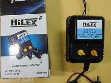 1.5V to 12V - 500mA Multi-Tap Adapter, Universal multivolt adapter power supply