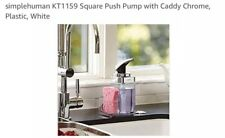 simplehuman Square Push Pump with Caddy For Kitchen