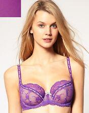 Elle Macpherson Intimates Artistry U/W Sheer Lace Bra - Candy Purple