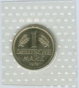 BRD  1 DM 1974 DFGJ - 2001 ADFGJ komplett  stempelglanz oBH  (124 Münzen!)