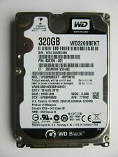 "WD Black Western Digital WD3200BPVT-22JJ5T0 Hard Drive 320GB 2.5"" HDD HHOTJHK"