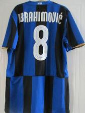Inter Milan 2008-2009 Ibrahimovic 8 Home Football Shirt Size XL /39098