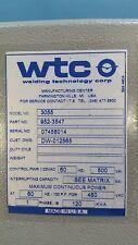 WTC Medar Medweld 3000s 3055 Welding Controls AC Control - New - Make Offer