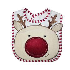 Christmas Bib Reindeer Bib by Nursery Time