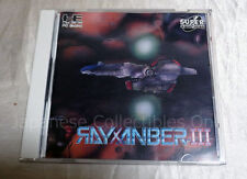 NEC PC ENGINE CD-ROM2 RAYXANBER III 3 shooter Japan DATA WEST