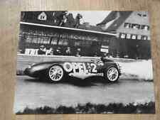"Foto Fotografie photo photograph OPEL ""RAK 2"" 1928  86010510.06 SR617"