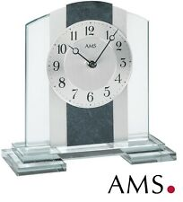 AMS Horloge de table 38 quartz élégante bureau Montre Watch pendulette 994