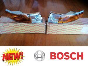 ✈New Bosch Euro Turn Signal Assemblies Housings L+R Porsche SWB 911 912 1965-68