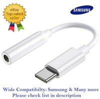 Genuine Samsung USB C Type C to 3.5mm AUX Audio Headphone Jack Cable Adapter For