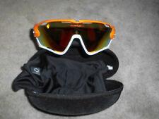 Oakley Jawbreaker Atomic Orange / Fire Iridium Polarized