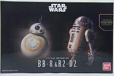 Bandai Star Wars 1/12 BB-8 & R2-D2 Plastic Model