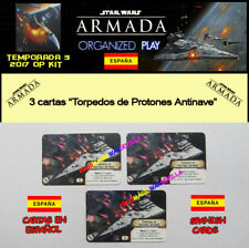 STAR WARS ARMADA 2017 T3 OP KIT ESPAGNOL - 3 Torpilles proton antinave