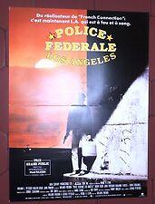 Cinéma. Affiche 40 x 60 cm. Police fédérale Los Angeles. Prix Film Policier 1986