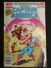 Captain America Annual #9 Iron Man Terminus First Appearance in Stage 1 Form