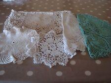 Combinación de Crochet Traje de tapetes de Vintage de corte de ciclismo de re-En funcionamiento