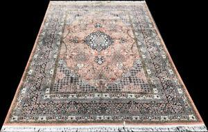 """ Promotional Listing"" A Superb Decorative 100% Silk Kashmiri Area Rug $749.00"