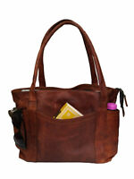 Women's Shoulder Tote Bag Satchel Purse Office Handbag Shopper Genuine Leather
