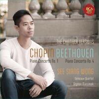 SEE SIANG WONG - PIANO CTO.1/PIANO CTO.4 (CHAMBER MUSIC VERS.)  CD NEU