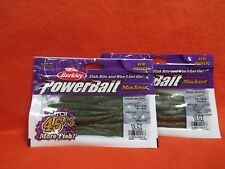 BERKLEY POWERBAIT FLATNOSE JERK SHAD (5IN) BABY BASS (10CT)(2PK'S)#1482249