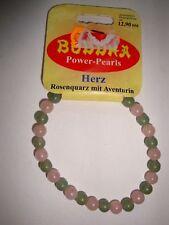 1 BUDDHA Power-Pearls Armband:  zur Wahl: Herz  - Alpträume -  Eßsucht