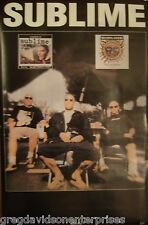Sublime 22x34 Robbin The Hood 40oz to Freedom Poster 1999 Brad Nowell