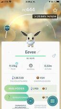 shiny eeve, Pokémon Go, trade Registered