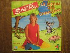 DOROTHEE LIVRE DISQUE 45 TOURS FRANCE LE JARDIN VOL. 2