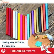 Sealing Wax Round Stick Glue Gun Stamp Seal Candle Envelope Invitation Wedding