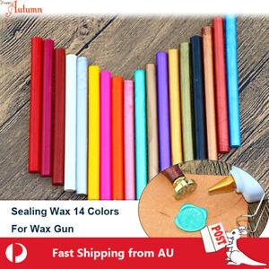 Sealing Wax Round Stick Glue Gun Stamp Seal Candle Envelope Invitation Wedding