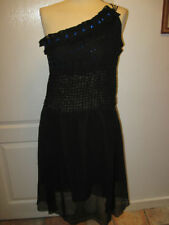 Wallis Knee Length Polyester One Shoulder Dresses for Women