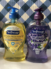 Softsoap Variety Pack, Lavender and Kitchen Fresh Liquid Hand Soap- 11.25oz each