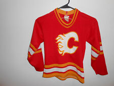 Vintage Calgary Flames Jersey Youth Small NHL CCM RARE