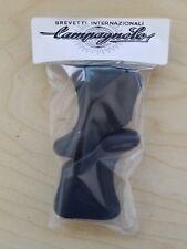 REPRODUCTION Campagnolo Super Record Shield Logo Brake Hoods- Nuovo Record BLACK
