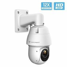 Amcrest ProHD 1080P POE Outdoor PTZ IP Camera (12x Optical Zoom) Speed Dome