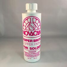 Novacan Super Brite Copper Patina - (8 Oz) stained glass supplies