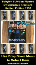 """Babylon 5 Action Figures By Exclusive Premiere - New Sealed - 1997 - 9"""" Dolls"""